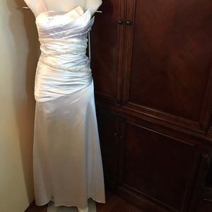 🆕 Fanny Fashion White Gown-Small